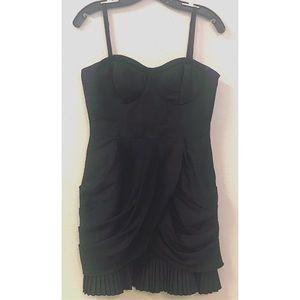 Twelve By Twelve Los Angeles Black Draped Dress